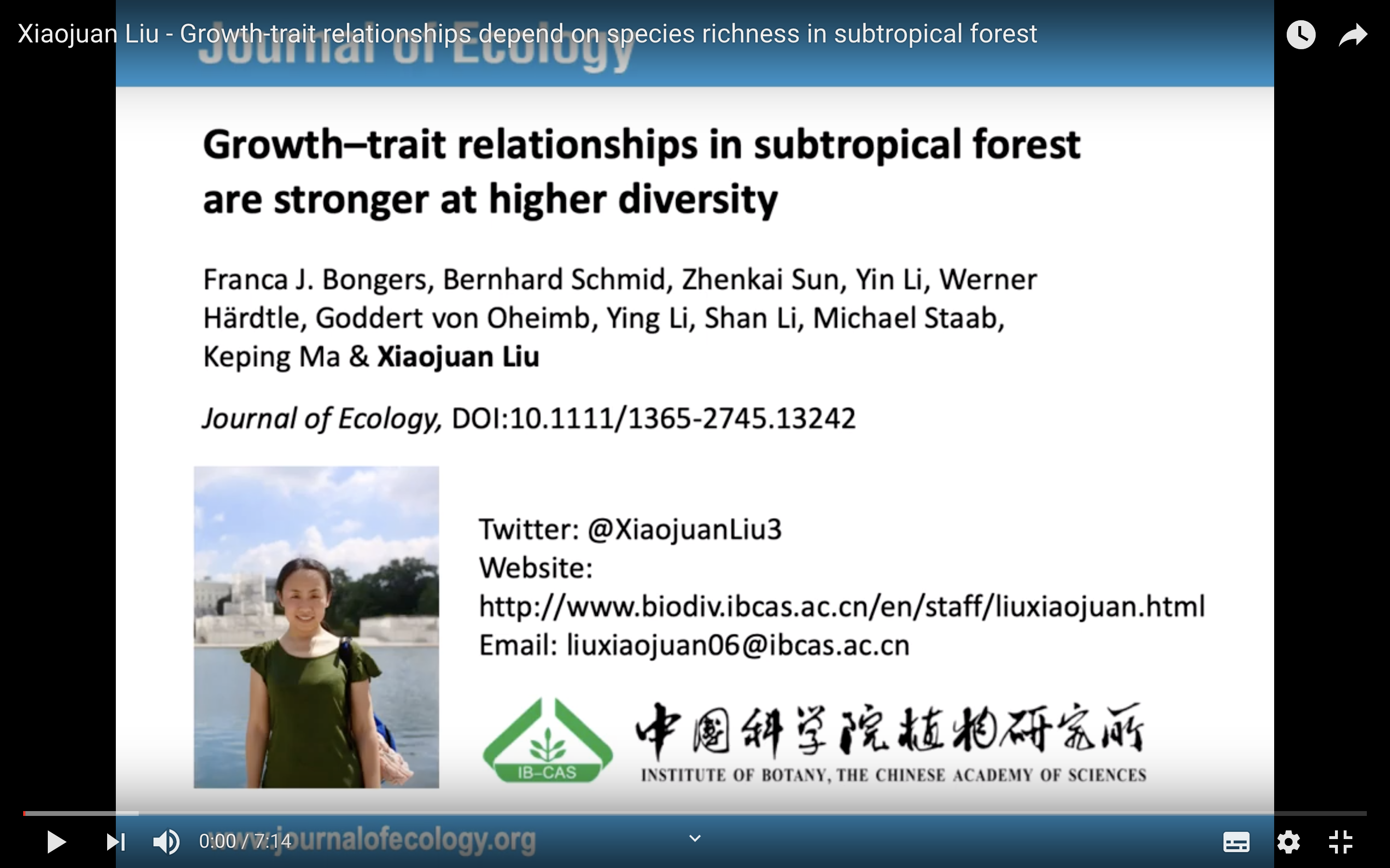Growth-trait relationships depend on species richness in subtropical forest